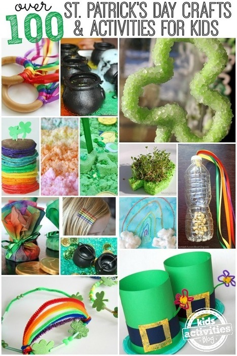 Over 100 St. Patrick's Day Crafts and Activities - Kids Activities Blog | The Science of Cosmetics | Scoop.it