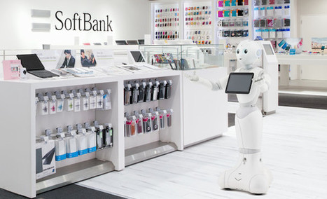 Le robot Pepper sera loué par SoftBank aux commerces à 330€/mois | Une nouvelle civilisation de Robots | Scoop.it