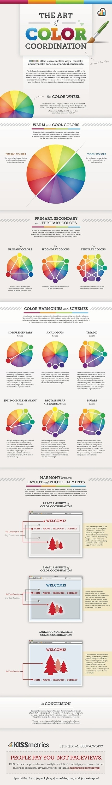 Color Is MASTER of Us All [Infographic] | Web mobile - UI Design - Html5-CSS3 | Scoop.it