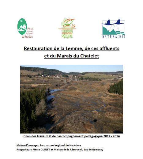 Restauration de la Lemme, de ces affluents et du Marais du Chatelet. Bilan des travaux et de l'accompagnement pédagogique 2012/2013 | Centre de ressources Fédération des parcs naturels régionaux | Scoop.it