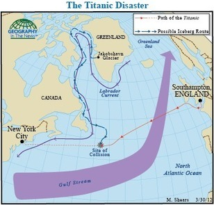 Geography in the News: The Timeless Titanic Story   Geography in the News   Scoop.it