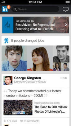 LinkedIn Releases Overhauled iPhone App with New User Interface | iPhone in Canada Blog - Canada's #1 iPhone Resource | iGeneration - 21st Century Education | Scoop.it