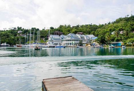 """Marigot Bay -  """"The Most Beautiful Bay in the Caribbean"""" - By Land or by Sea 