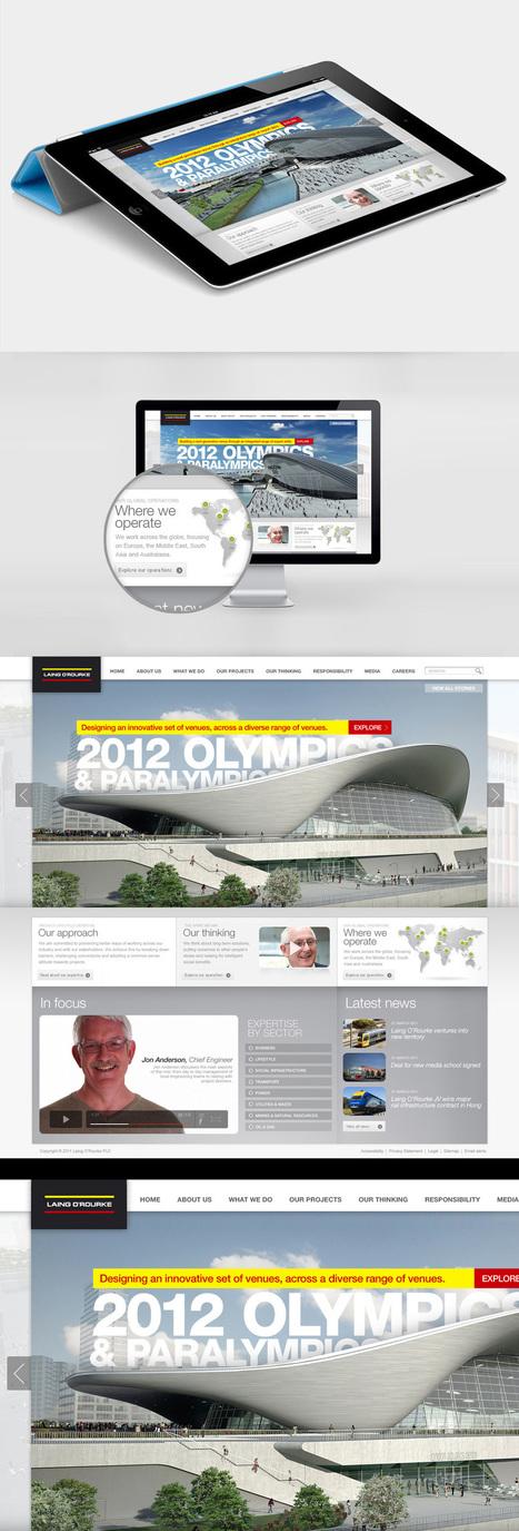 5 talentueux Webdesigners et Designers d'interface #1 | Design Spartan : Art digital, digital painting, webdesign, illustration et inspiration… | Design d'expérience utilisateur | Scoop.it