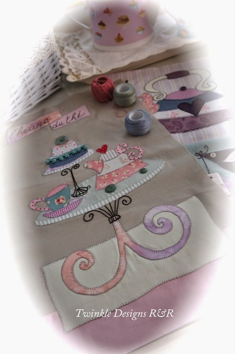 """TWINKLE PATCHWORK: """" SWEET MYSTERY QUILT """" 