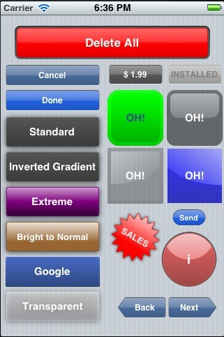 Great Open Source iOS Objective-C Library For Creating Highly Customizable Glossy Buttons | Iphone ipad development | Scoop.it