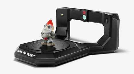 3D printing just got real: The MakerBot Digitizer is up for pre-order | ExtremeTech | 3D printing topics | Scoop.it