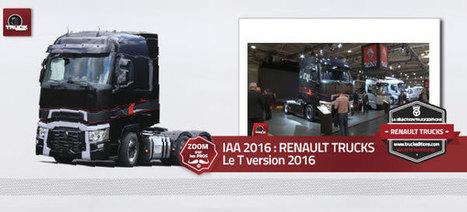 IAA 2016 RENAULT TRUCKS - truck Editions | Truckeditions | Scoop.it