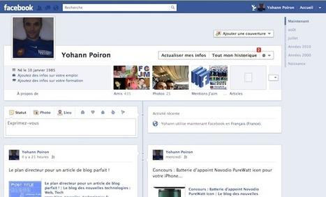 Facebook Timeline est disponible pour tous ! | Le blog des nouvelles technologies : Web, Technologies, Développement, Interopérabilité | actualité d'internet | Scoop.it