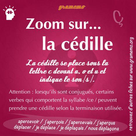 la cédille | FLE enfants | Scoop.it