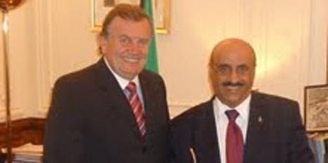 Herman Olivero se reunió con el embajador de Kuwait | Secretaría de Integración y Relaciones Internacionales | Scoop.it