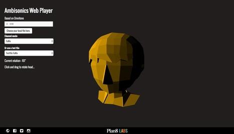 Ambisonics web player - Omnitone Preview   3D Audio: Surround & Binaural   Scoop.it