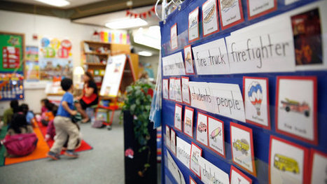 Language-Gap Study Bolsters a Push for Pre-K | On Learning & Education: What Parents Need to Know | Scoop.it