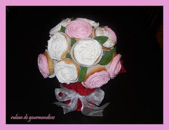 Ruban de Gourmandises: bouquet de cupcakes | Delice et Papilles | Scoop.it