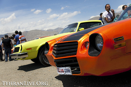 American Muscle Cars show in Tehran | Tehran Live | american muscle cars | Scoop.it