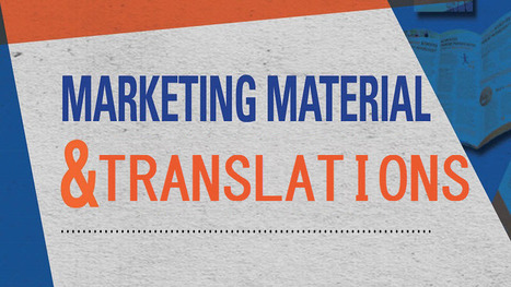 Marketing Materials and Translations | Translations | Scoop.it