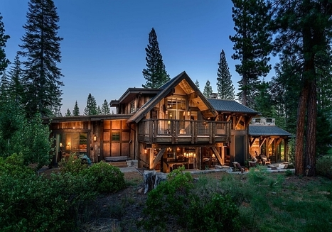 Stunning Cabin Retreat Brings Rustic Texan Charm to Lake Tahoe   Decorating Ideas - Home Design Ideas   Scoop.it