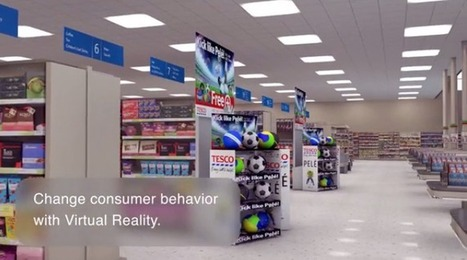 Réalité virtuelle : Tesco frappe encore avec une initiative innovante ! | La Minute Retail | Les innovations retail | Scoop.it