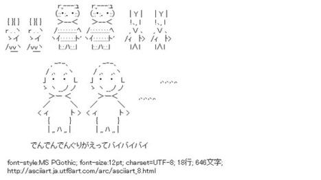 にんげんっていいな (まんが日本昔ばなし) | ASCII Art | Scoop.it
