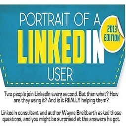 The Portrait of a LinkedIn User in 2013 [INFOGRAPHIC] | Het Nieuwe Werken | Scoop.it