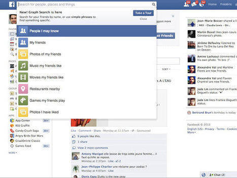 Comment activer le Graph Search de Facebook   graph search facebook   Scoop.it