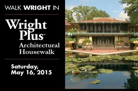 Wright Plus 2015 Housewalk | Frank Lloyd Wright Trust | A. Perry Design Lounge | Scoop.it