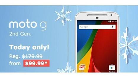 Moto G, Moto X and Moto 360 are Up to 50% Off in Motorola Cyber Monday Sale - I4U News | Black Friday | Scoop.it