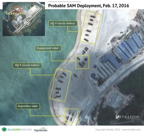 A Glimpse Into China's Military Presence in the South China Sea | Center Comradedom | Scoop.it