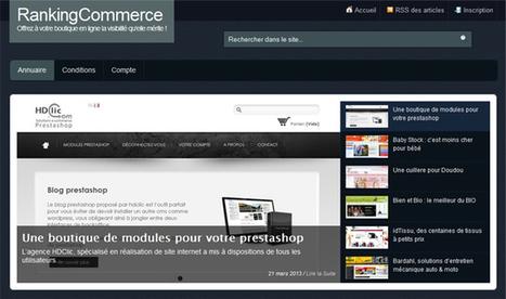 RankingCommerce - Annuaire e-commerce pour le référencement - Polynet, le blog | e-News | Scoop.it