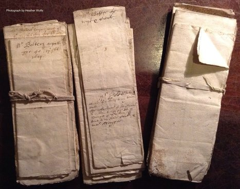 Filing, seventeenth-century style | Special Collections Librarianship | Scoop.it