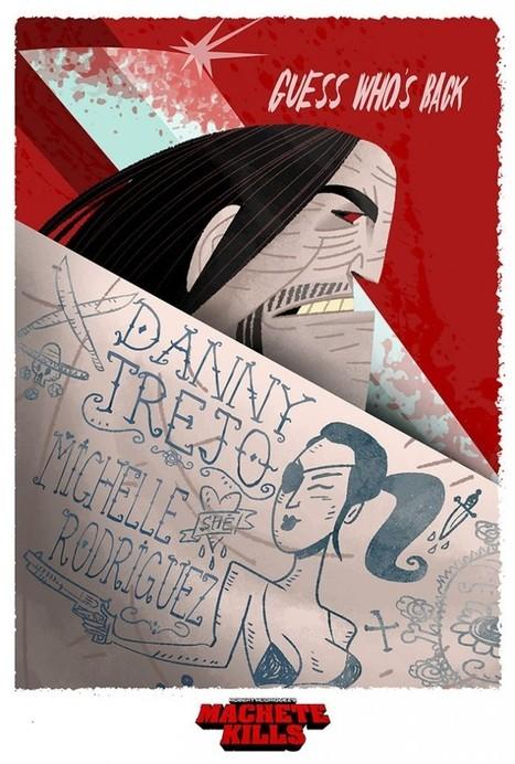 Machete Movie Poster | All Geeks | Scoop.it