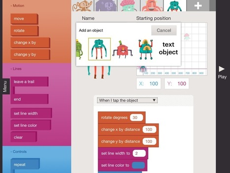 Hopscotch Technologies' New App Can Teach Kids to Code | iPad classroom | Scoop.it