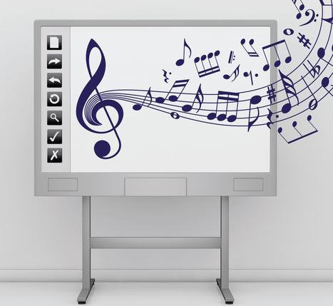 Interactive Whiteboards And The Digitisation Of Music Resources | interactive whiteboards | Scoop.it