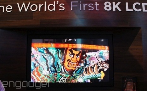Sharp is teasing a 3D-ready, 85-inch 8K display at CES, no glasses required | 8K TV Video Entertainment: Here NOW! | Scoop.it