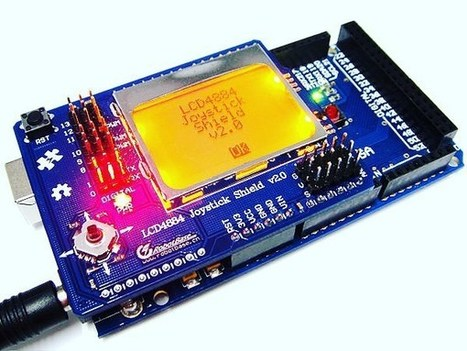 Insta-Arduino | Joystic LCD4884 arduo no compatible shield…... | Arduino Focus | Scoop.it
