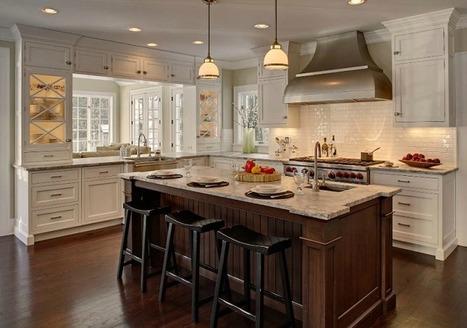Mix and Chic: Beautifully inspiring designer kitchens! | Luxury Kitchens | Scoop.it
