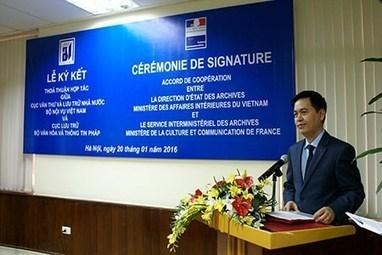 Vietnam-France : coopération dans le secteur des archives | Liên-Viêt Réseau culturel France Vietnam | Scoop.it