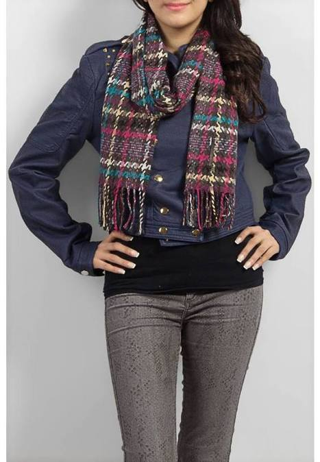 Tie Scarf Women Collection 2013/2014 For Winter By Arino Apparel   Fashionrely   Fashion   Scoop.it