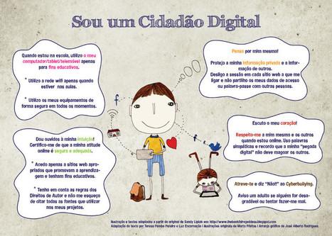 Cidadania Digital: quando a adaptação é mais bonita que o original :) | Um percurso... | Learning about Technology and Education | Scoop.it