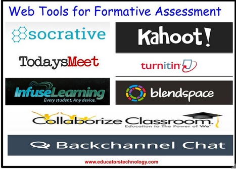 8 Excellent Tools for Formative Assessment to Try With Your Students | 21 C library | Scoop.it