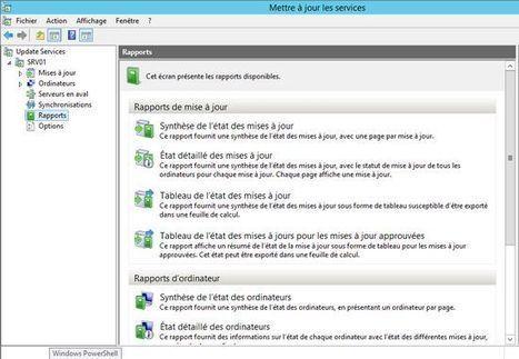 Générer des rapports avec WSUS sous Windows Server 2012 | WSUS | IT-Connect | #define infra | Scoop.it