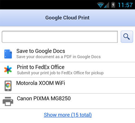 Google Cloud Print adds new features and new printers | The Social Web | Scoop.it