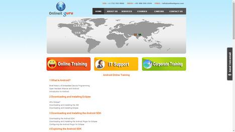 Online IT Guru - SAP ONLINE TRAINING, MICROSTRATEGY, ORACLE, HADOOP, Cognos TM1, JAVA, Android, iOS: ANDROID ONLINE TRAINING | ONLINE  TRAINING | Scoop.it