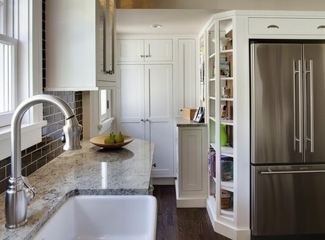 Small Kitchens: 8 Awesome Design Ideas | All About Kitchen Remodel | Scoop.it