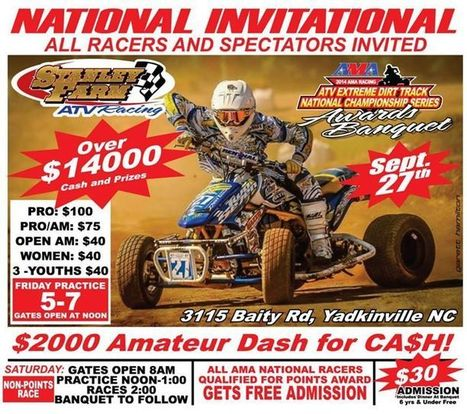 You qualify for year-end awards if you have raced four of the scheduled EDT race...   California Flat Track Association (CFTA)   Scoop.it