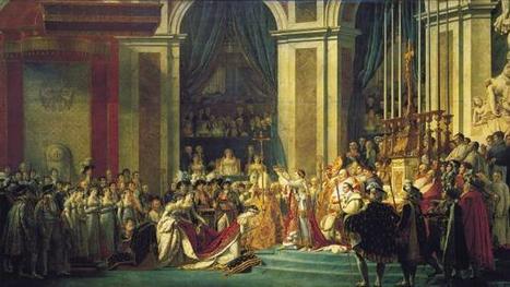 2 décembre 1804, Napoléon se sacre lui-même empereur | Histoire des arts 3e | Scoop.it
