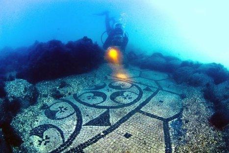 Découverte de ruines romaines et de villes sous-marines dans le golfe de Naples | L'actu culturelle | Scoop.it