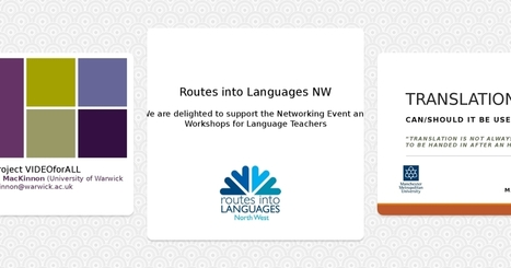 NETWORKING EVENT FOR MODERN LANGUAGE TEACHERS (10 June 2016) | TELT | Scoop.it