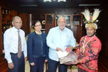Tribal, independent political West Papua leader meets President | Papuan News | Scoop.it