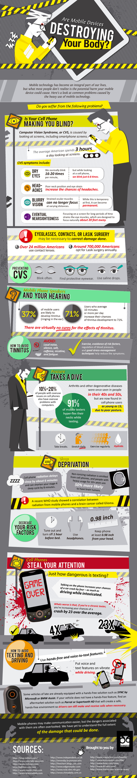 Are Mobile Devices Destroying Your Body? [INFOGRAPHIC ... | eLearning tools | Scoop.it
